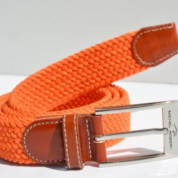 Die geflochtenen Gürtel - Uni-Orange